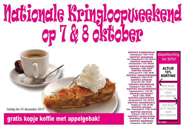 Kom met de Nationale Kringloopweekend naar Noppes op 7 & 8 oktober!