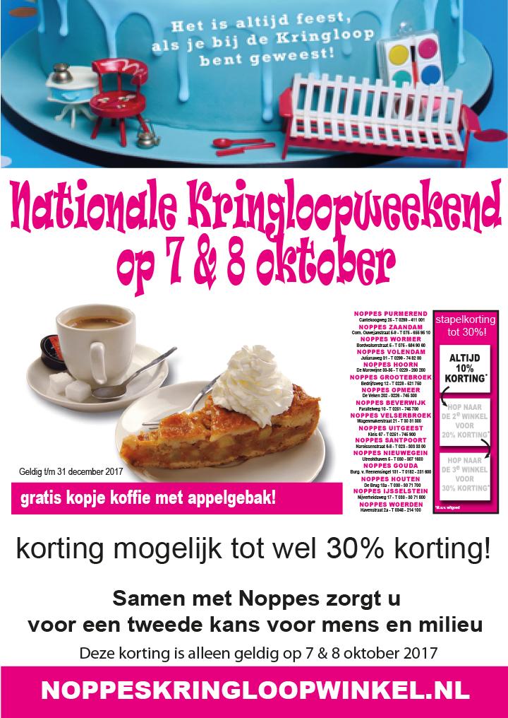 Poster Nationale Kringloopdag 2017